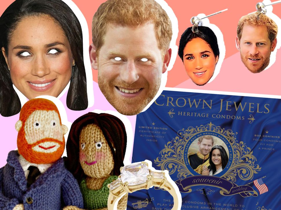 The Strangest Royal Wedding Merch: From Cardboard Cutouts to Commemorative Condoms