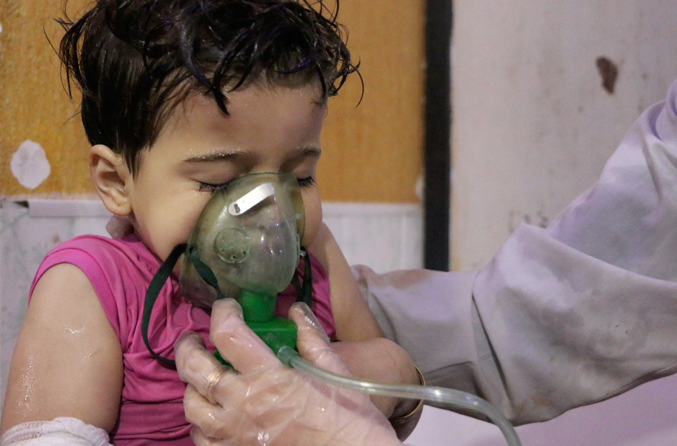 Russia Is Alleging the British Staged Assad's Use of Chemical Weapons