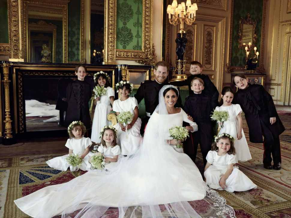 Prince George Is The True Star of Official Royal Wedding Portraits