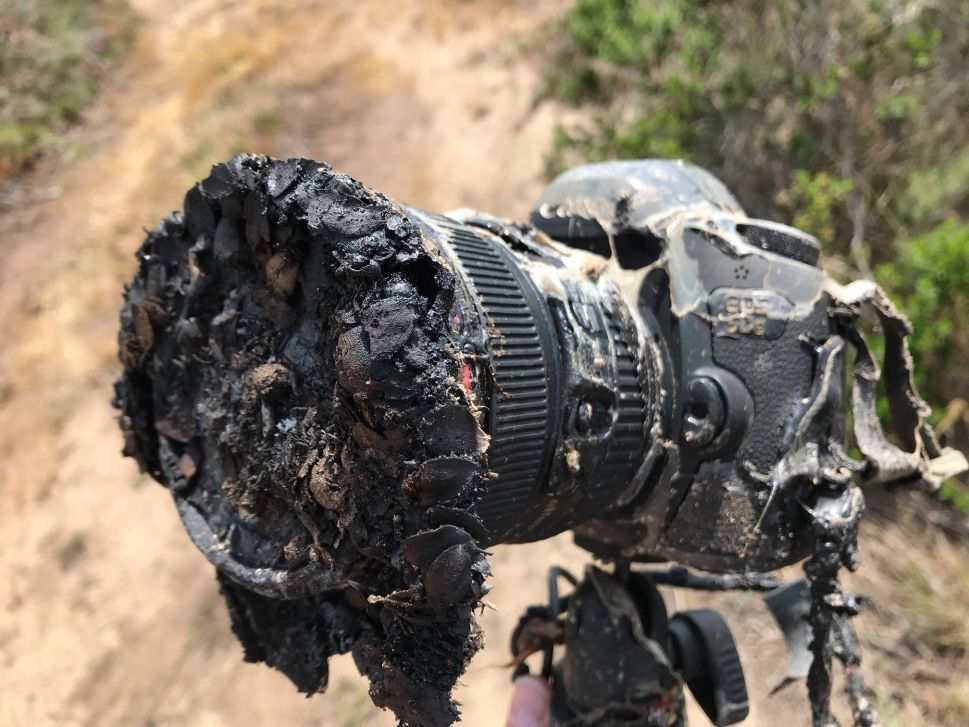 A SpaceX Rocket Launch Melted a Veteran NASA Photographer's Camera