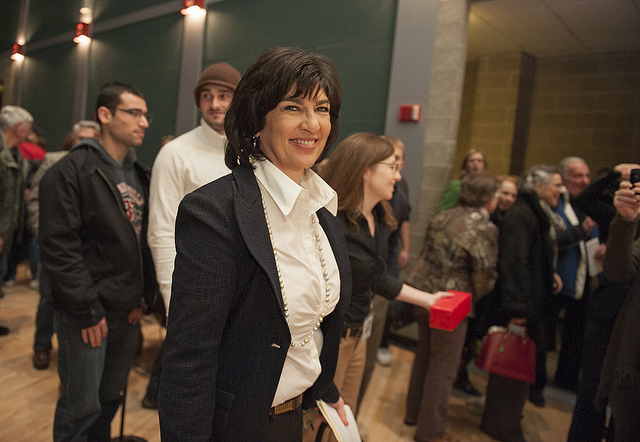 Christiane Amanpour Officially Replaces Charlie Rose on PBS