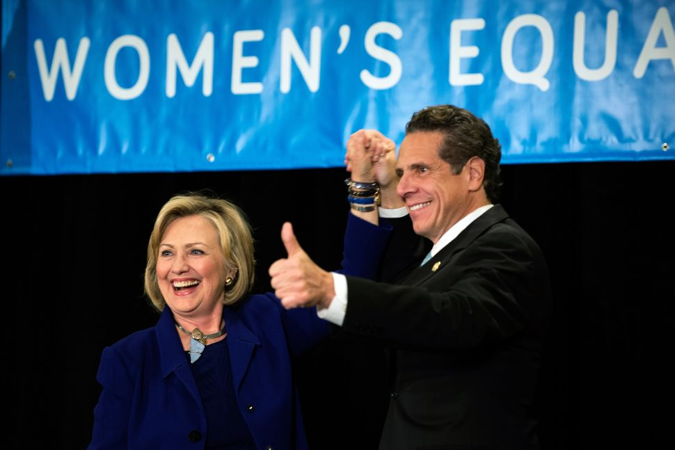 'You've Got To Vote for Democrats'—Hillary Clinton Is All In For Andrew Cuomo