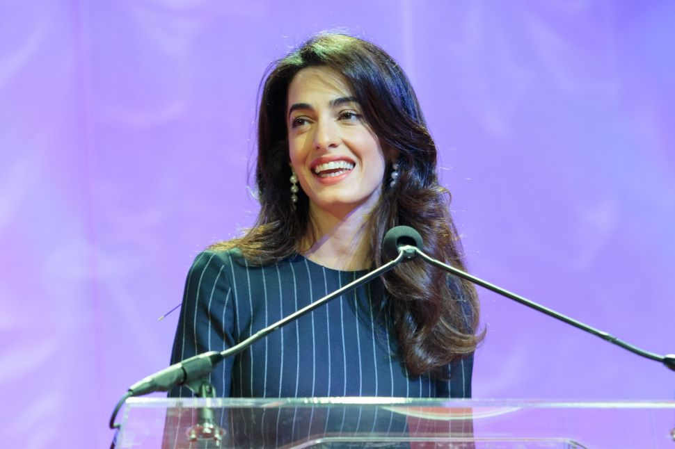 Amal Clooney Makes the Case Against a Secure, Orthodox Job