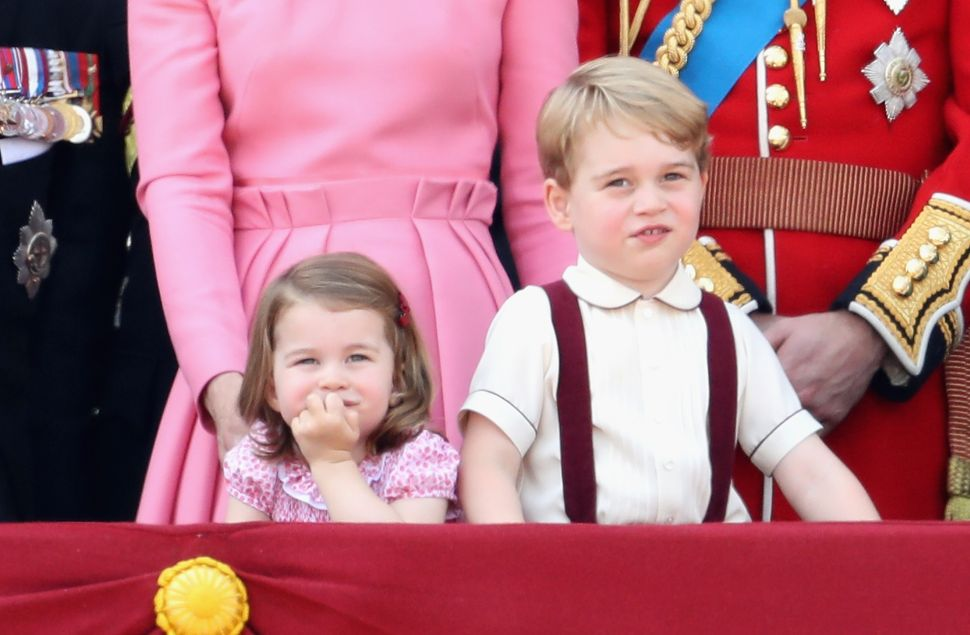 Even Prince George and Princess Charlotte Enjoy a Good Staycation