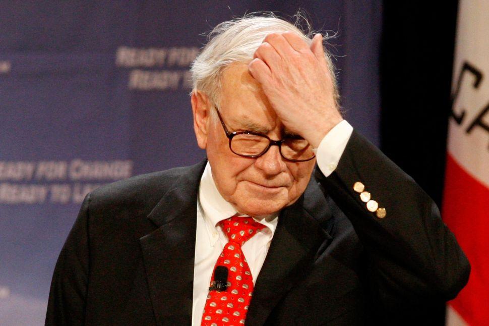 Warren Buffett Was Scammed Out of $340 Million in a Ponzi Scheme