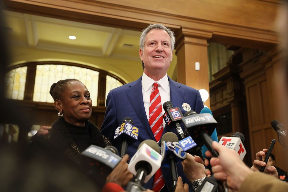 Bill de Blasio Bashes NYC Reporters on Their Turf at City Hall
