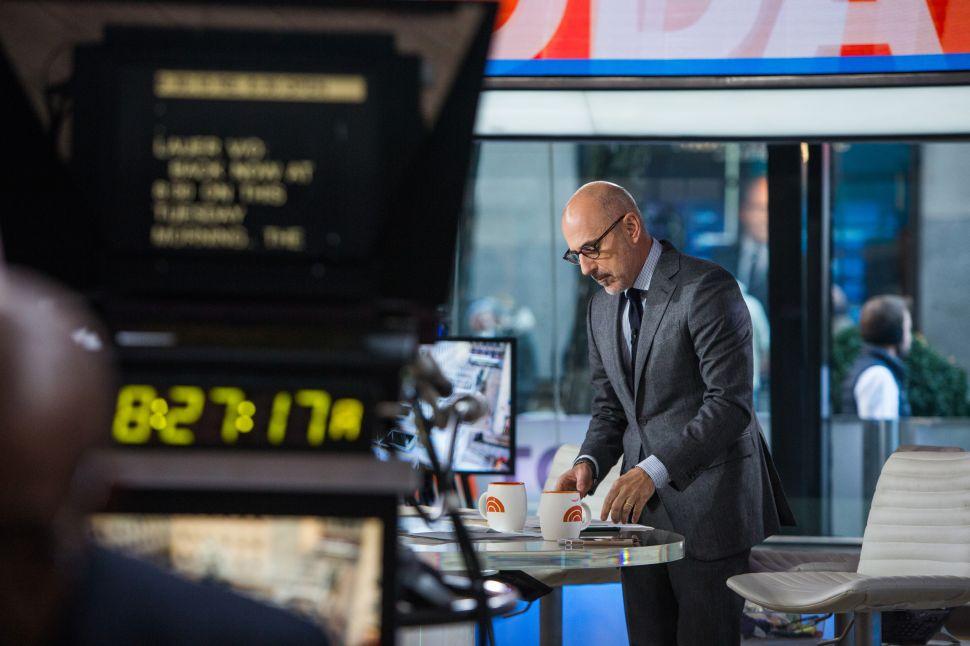 NBC's Matt Lauer Report Explains 'Door Button,' Disputes Ann Curry