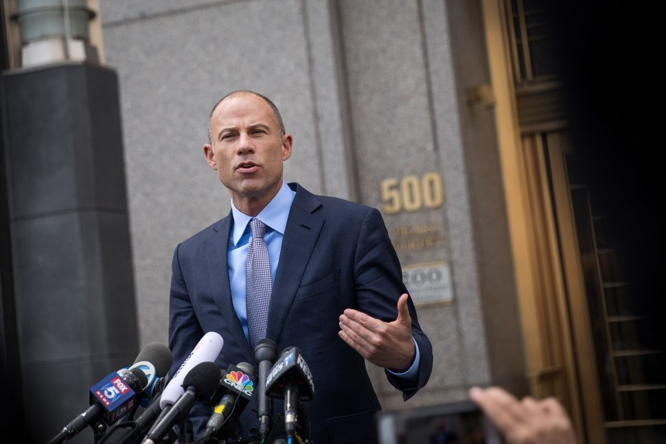 Stormy Daniels' Lawyer Michael Avenatti Tweets Out Fox News Booker's Phone Number