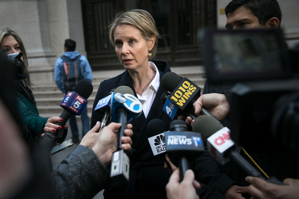 Cynthia Nixon: Bill de Blasio 'Can Do So Much Better' on Police Reform