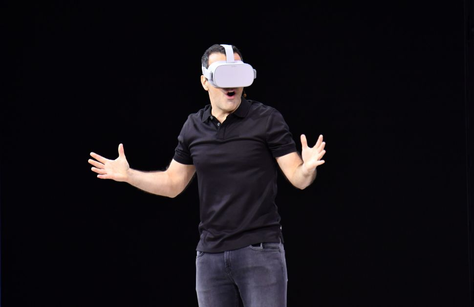 Facebook's Ambitious VR Push Has Gone Weird