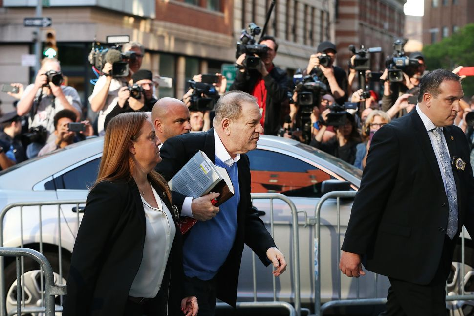 VIDEO: Harvey Weinstein Surrenders to NYPD on Sexual Assault Charges