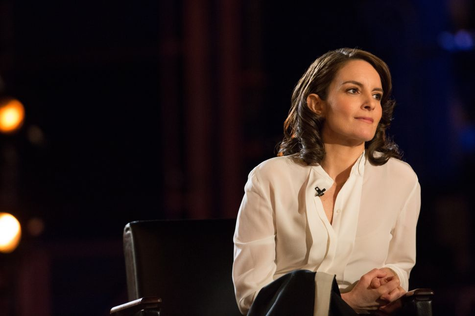 Tina Fey Challenged David Letterman Over His Lack of Female Writers
