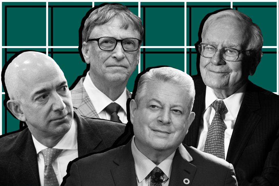 Jeff Bezos, Warren Buffett, Bill Gates and Al Gore Are Great at Making Predictions