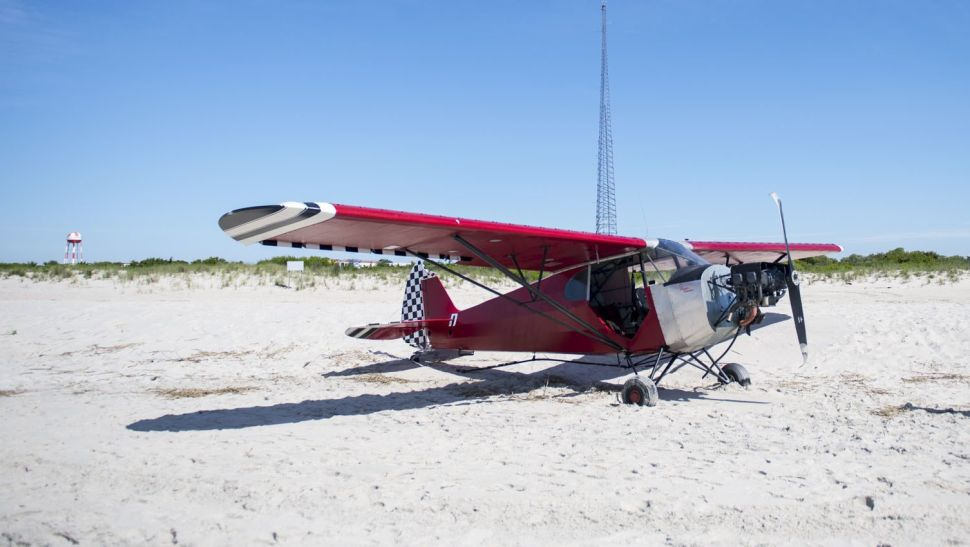Pilot Flees After Illegally Landing Plane on Restricted New Jersey Beach