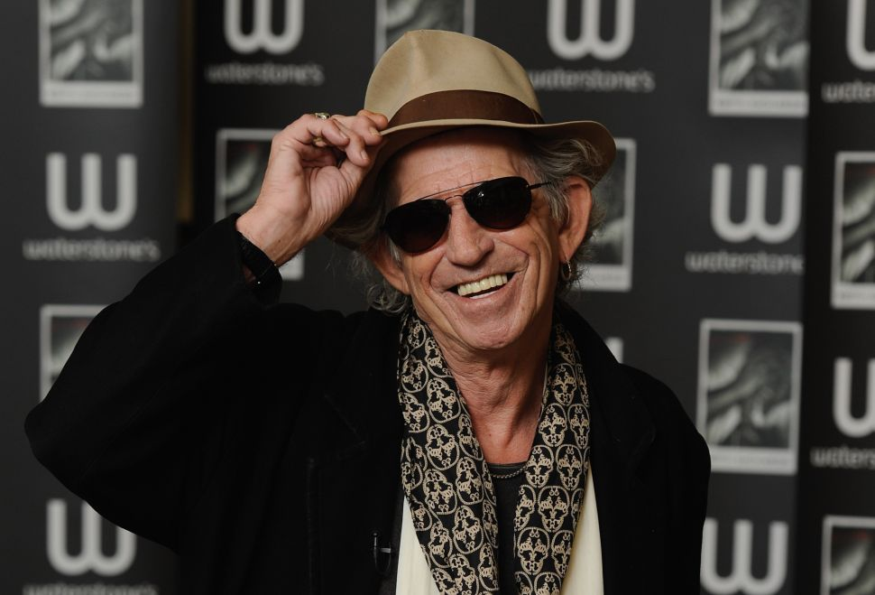 Gimme Shelter: Keith Richards Could Take a Loss at 1 Fifth