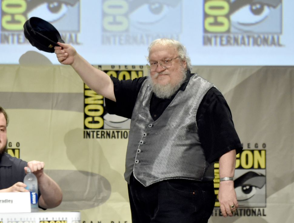 George R.R. Martin Says Work on 'Winds of Winter' Is 'Top Priority,' But No Date Set