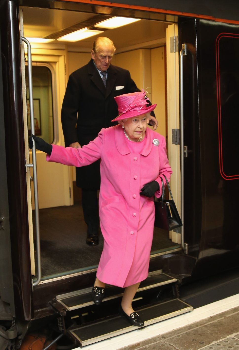 Queen Elizabeth and Meghan Markle Will Have Slumber Party On the Royal Train