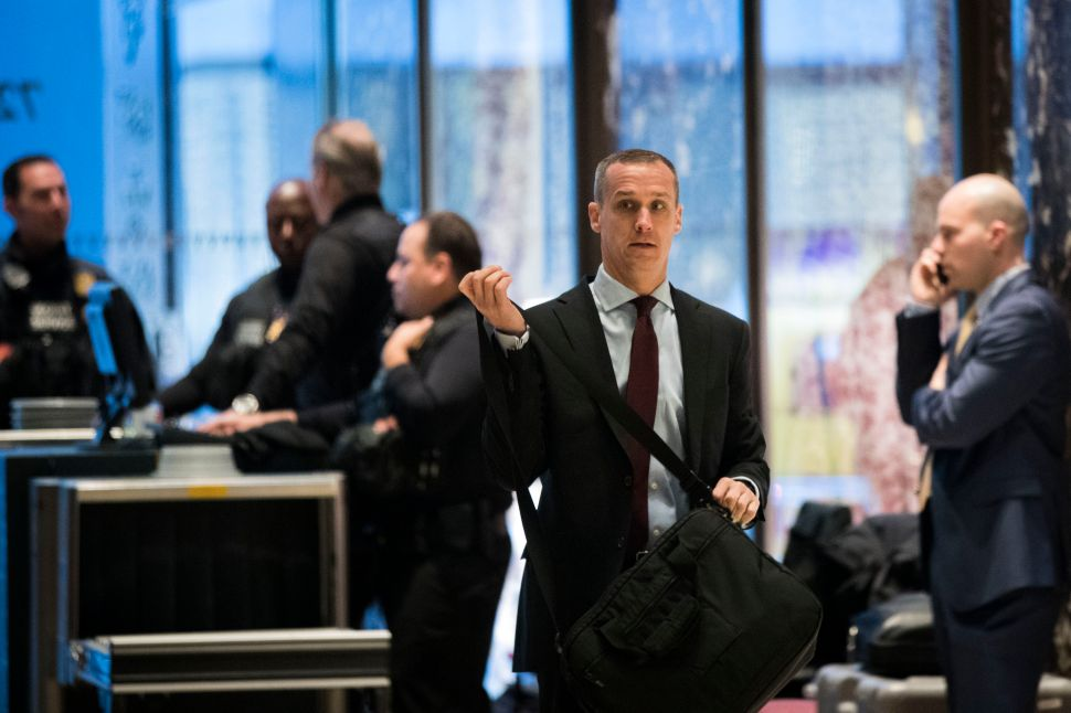 T-Mobile Urged to Drop Corey Lewandowski After 'Womp Womp' Immigration Comments