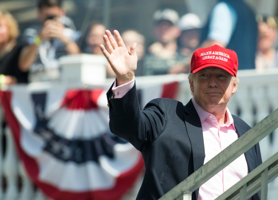 Donald Trump's Trip to New Jersey Could Cost Taxpayers $87,000