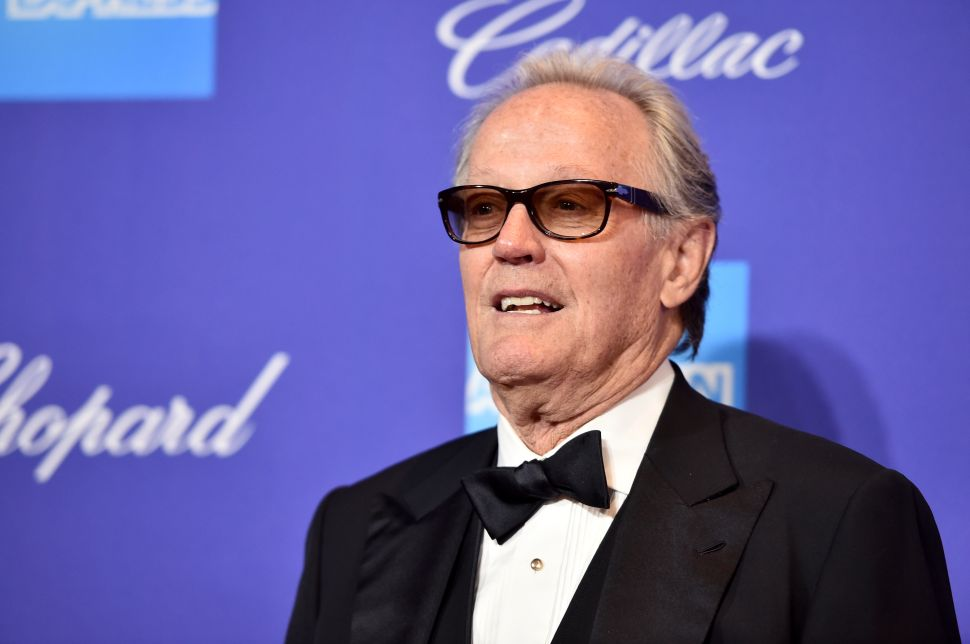 Peter Fonda Suggests Putting Barron Trump 'In a Cage With Pedophiles'