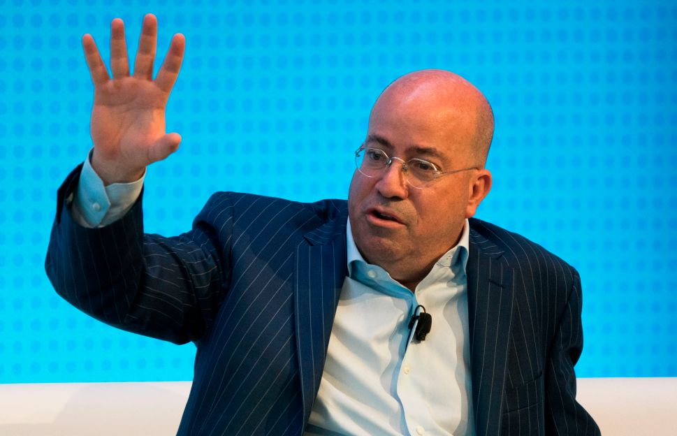 Despite Sinking Ratings, CNN Re-Signs President Jeff Zucker Through 2020 Election