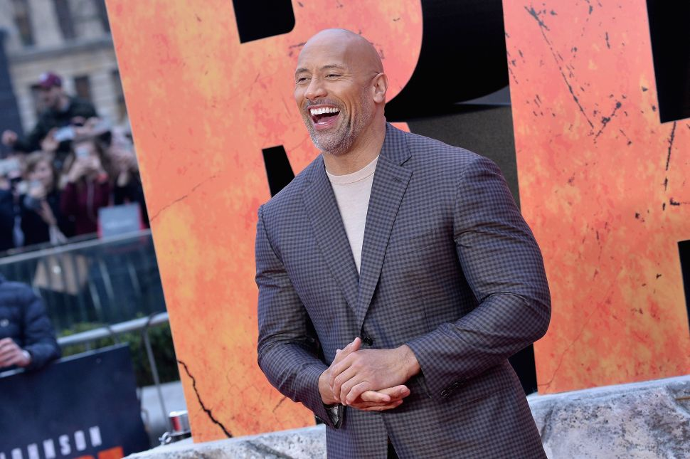 Nothing Can Stop Dwayne Johnson—Not Even the Chinese Government