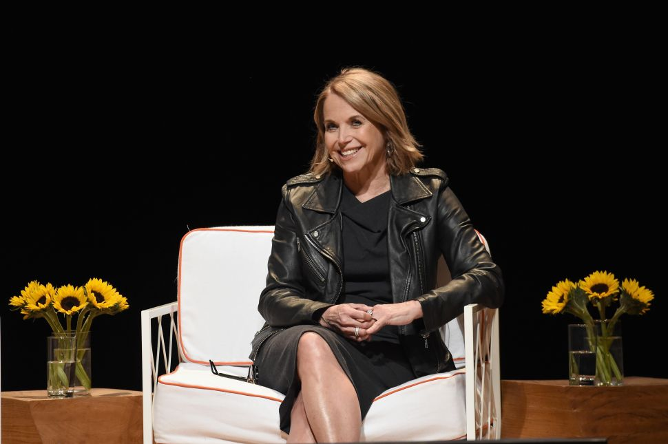 Katie Couric Will Spotlight Strong Women in New Online Series