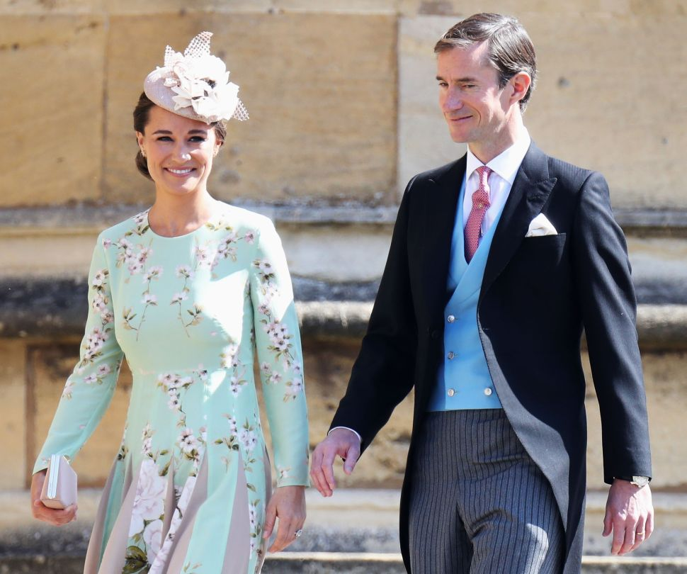 Pippa Middleton Confirmed Her Pregnancy In a Grocery Store