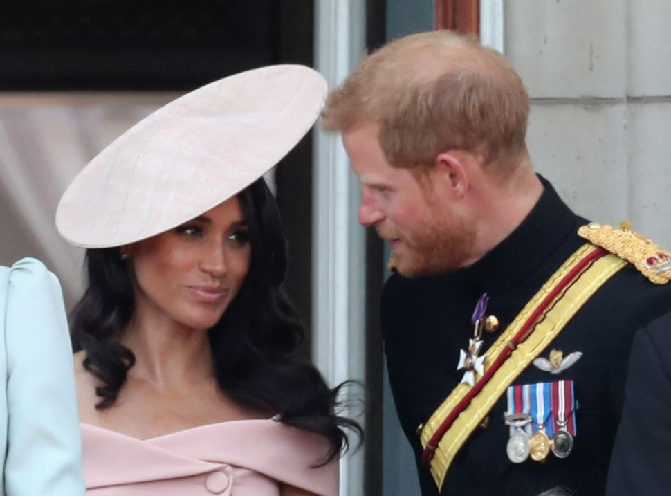 The Princess Diaries Continue: Prince Harry Helps Meghan Markle Learn Royal Rules