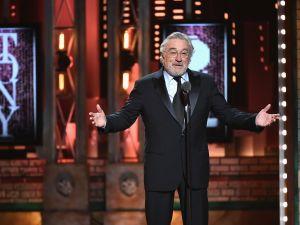 Tone Awards Robert De Niro Donald Trump