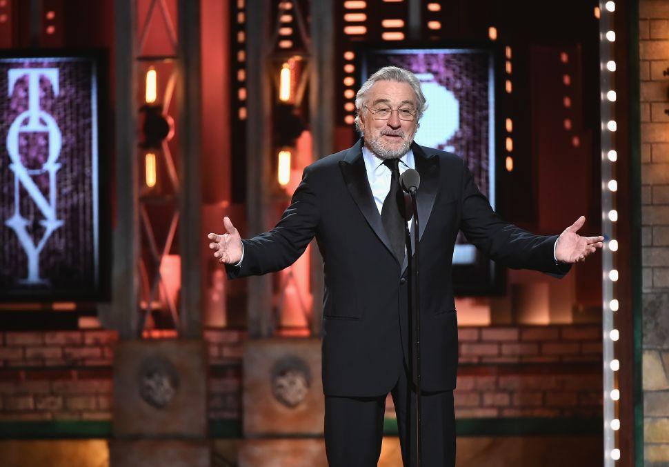 Robert De Niro Receives Standing Ovation at Tony Awards After Yelling 'F**k Trump'
