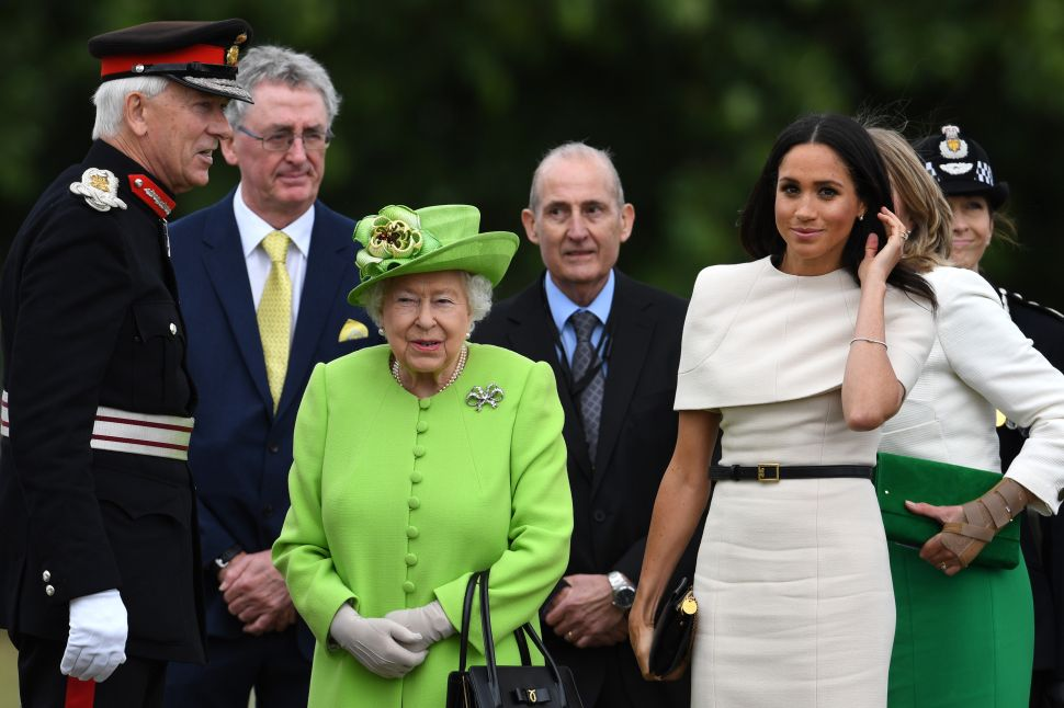 Meghan Markle Must Follow Queen Elizabeth's Ridiculous Rules Now