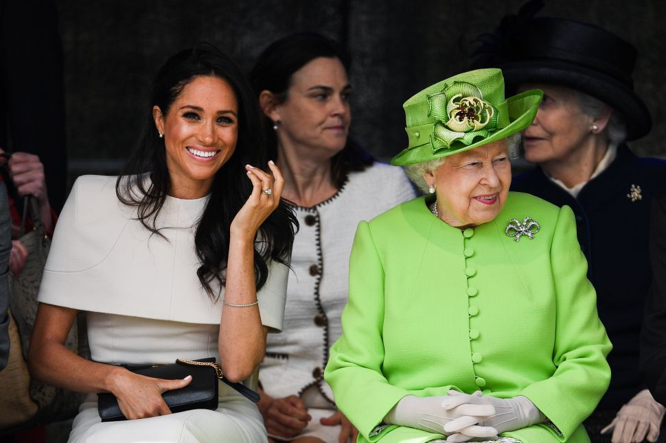 Meghan Markle and Queen Elizabeth Are BFFs After Their Slumber Party