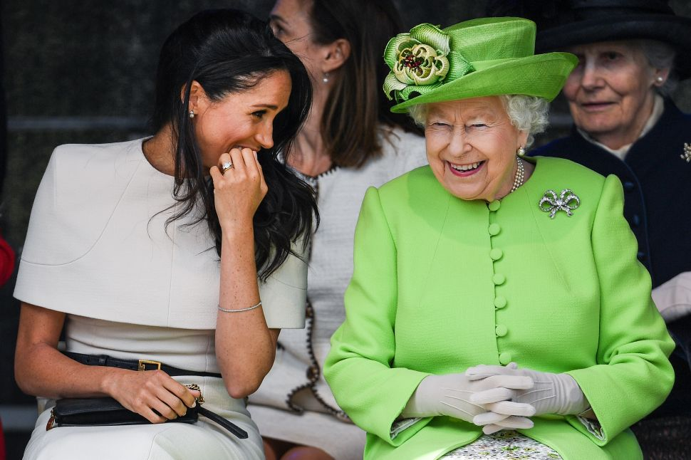 Meghan Markle's Dad Throws Shade at Trump and Queen Elizabeth