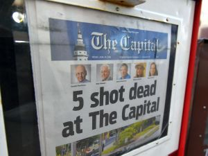 """The Capital Gazette """"put out a damn newspaper,"""" even after the mass shooting there."""
