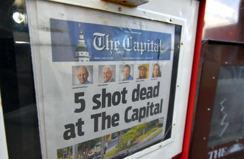 To Honor Capital Gazette Victims, Donate to GoFundMe and Subscribe to a Newspaper