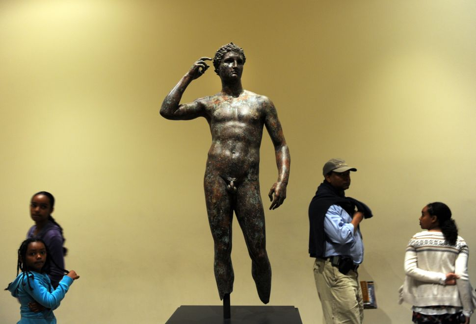 Italian Court Orders California's Getty Museum Must Give Up Its Beloved Bronze