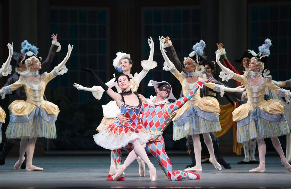 Joy Reigns Supreme in Ratmansky's New 'Harlequinade'