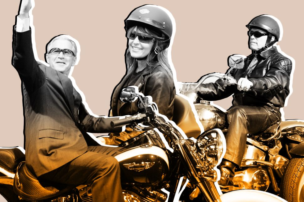 Say Goodbye to Our Most Important Political Tradition: Photo Ops on Harley-Davidsons
