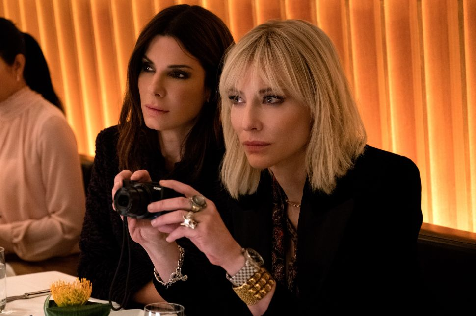 'Ocean's 8' Is Fluff, Obviously—But Some of the Better, 3-Star Fluff You'll Find