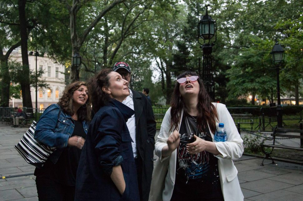 Why This NYC Park Is Filled With the Sound of Loud Breathing