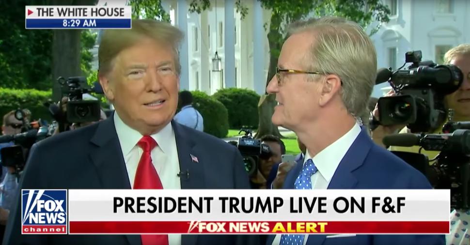 Trump Tells 'Fox & Friends' Fanboys FBI Is 'Scum' That Plotted Against Him