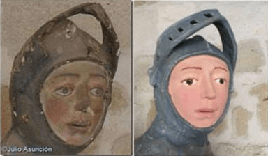 Can Spain's Botched St. George Sculpture Be Fixed? Art Restorers Weigh In.