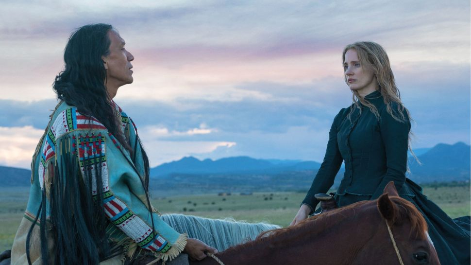 Jessica Chastain Stuns in 'Woman Walks Ahead'