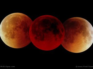 The Total Lunar Eclipse of July 16, 2000 was a very long total eclipse (1 hour 47 minutes) that won't be exceeded for over a thousand years.