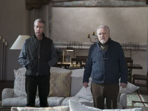 Alan Ruck and Brian Cox in HBO's Succession.