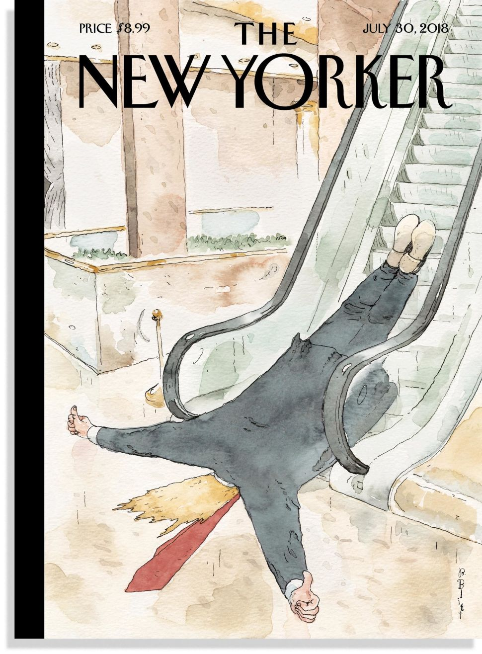 Despite Drudge Drama, The New Yorker Doesn't Want Trump Dead