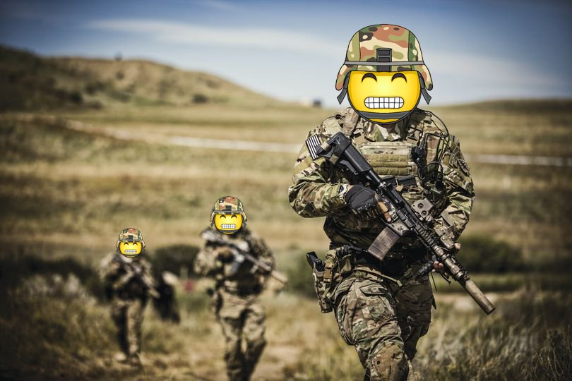 US Military Branches Want You to Forget About War With 'World Emoji Day' Campaign