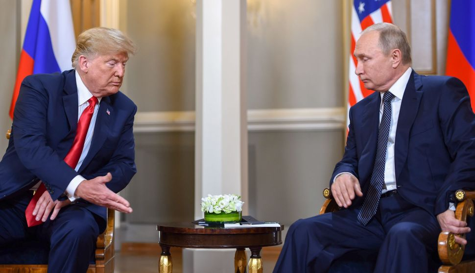 Putin Doesn't Deny He Has Compromising Material on Trump