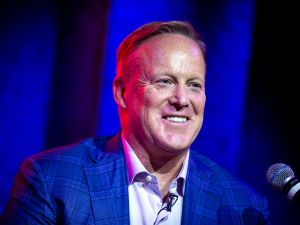 Sean Spicer's BBC interview turned out to be the most contentious stop on his book tour.